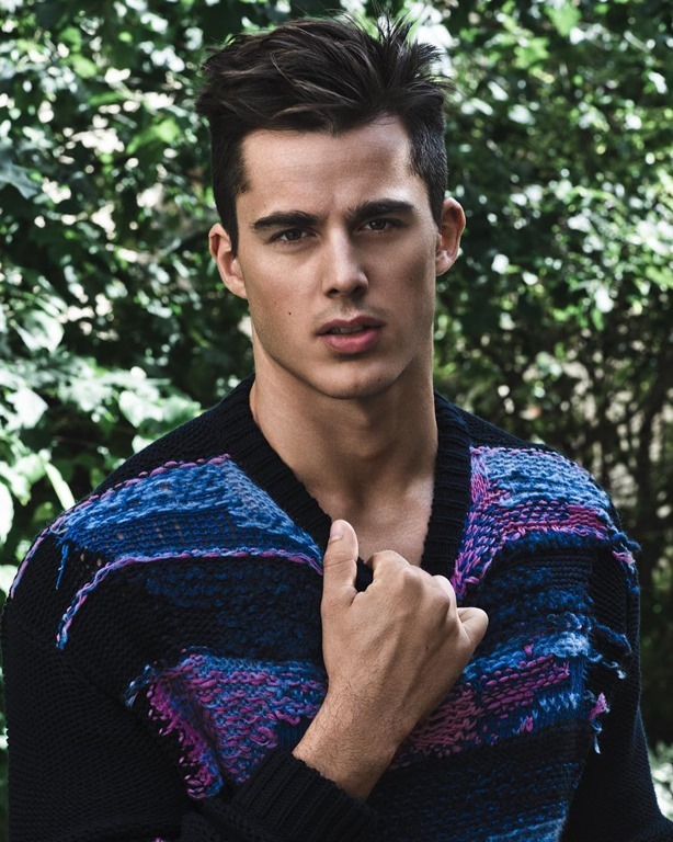 L Officiel Hommes Poland Pietro Boselli By Anthony Meyer Image