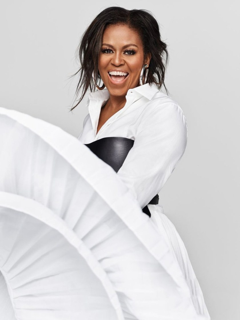 ELLE Michelle Obama by Miller Mobley. Meredith Koop, December 2018, www.imageamplified.com, Image Amplified4