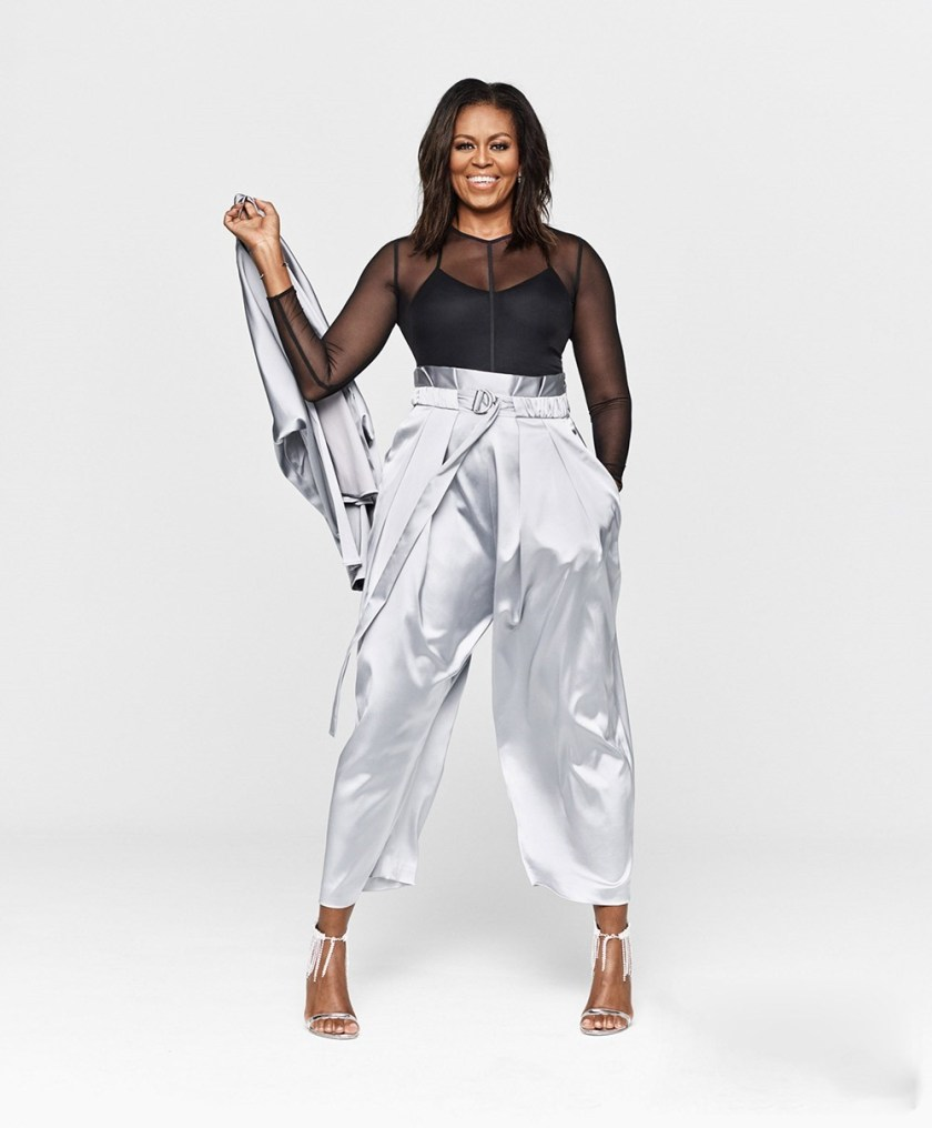 ELLE Michelle Obama by Miller Mobley. Meredith Koop, December 2018, www.imageamplified.com, Image Amplified5