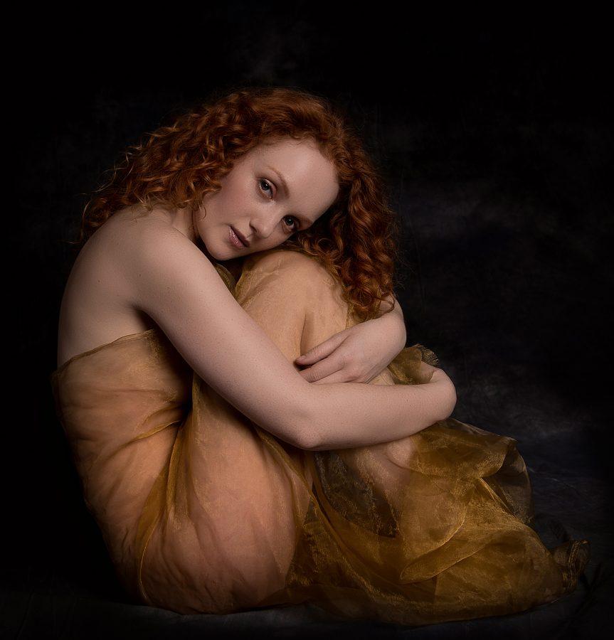 female model portfolio portrait session photograph