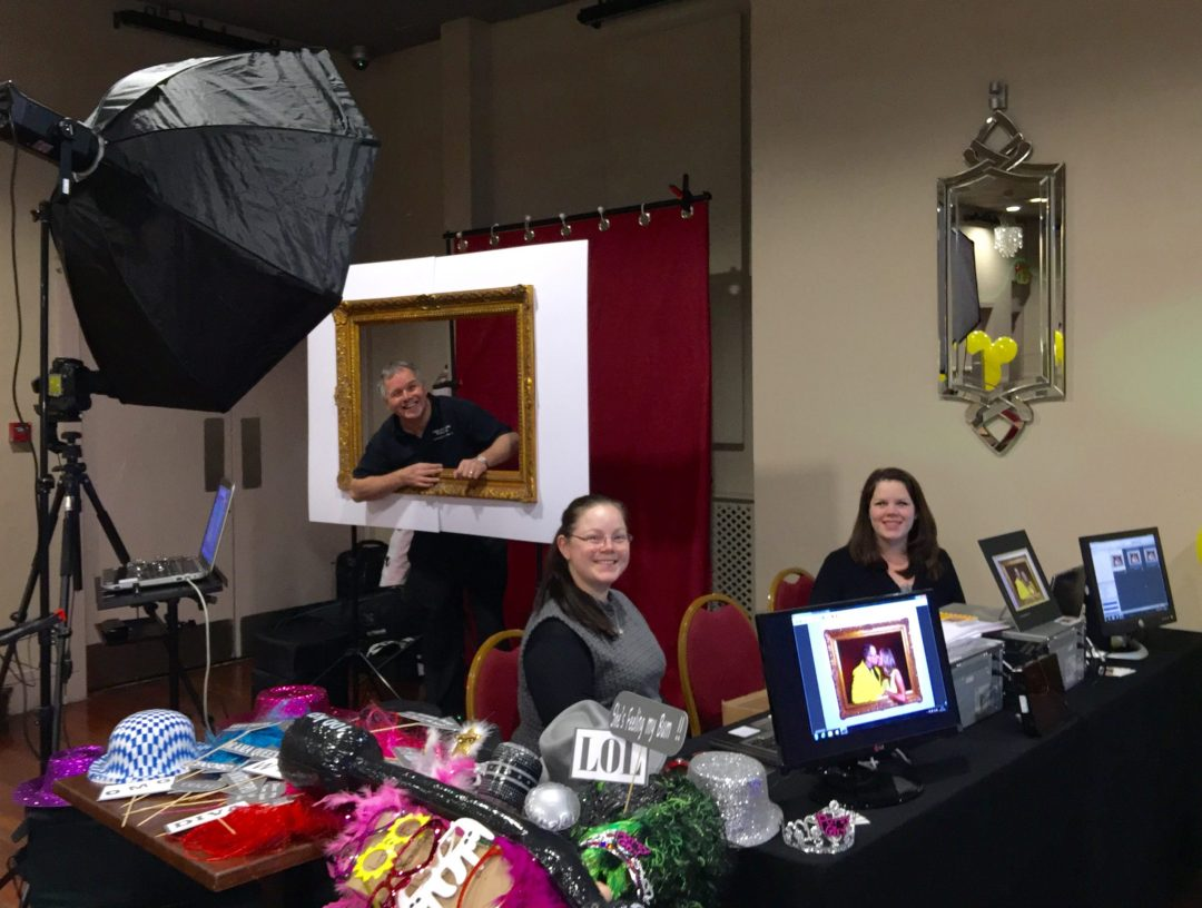 print on site facilities from the photobooth style of image and events photography