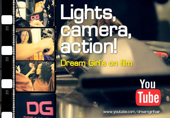 Lights, camera, action... Dream Girl