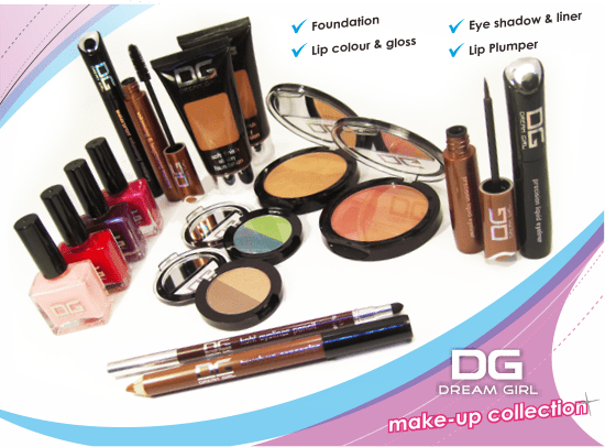 Dream Girl Make Up Collection