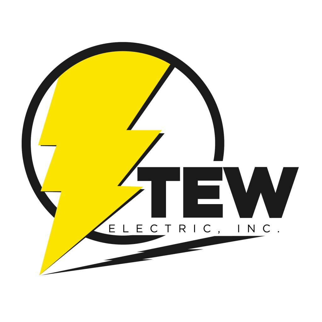 Tew Electric Logo created in Illustrator.