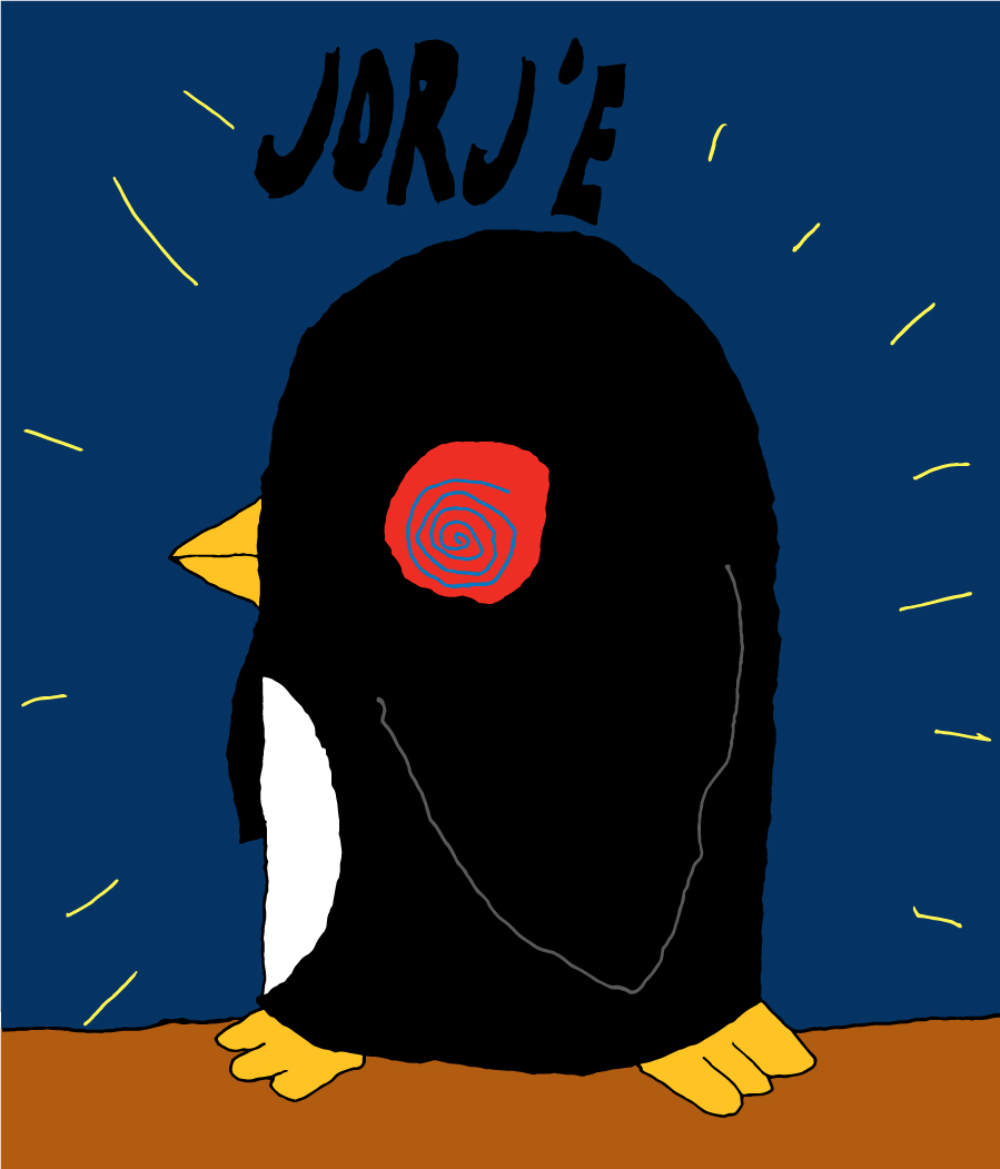 Jorj'e the Hypnotized Penguin