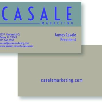 Casale Marketing Business Cards