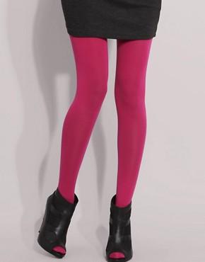 ASOS 80 Denier Opaque Hot Pink Tights