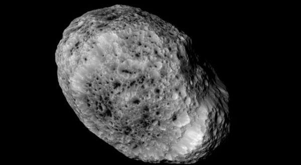 News | Cassini Sends Final Close Views of Odd Moon Hyperion