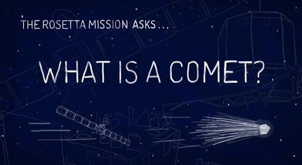 News | Rosetta Arrives at Target Comet