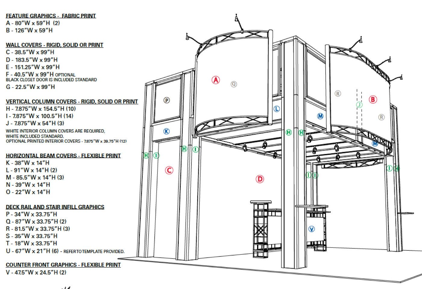 Trade Show Double Deck Booth Rentals