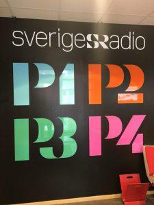 Image focus gäst hos Johanna Hermann Lundberg på P4 Uppland Sveriges Radio