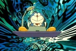 Doraemon time machine