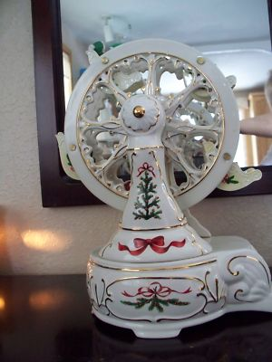 Karla817biz Ceramic Christmas Ferris Wheel