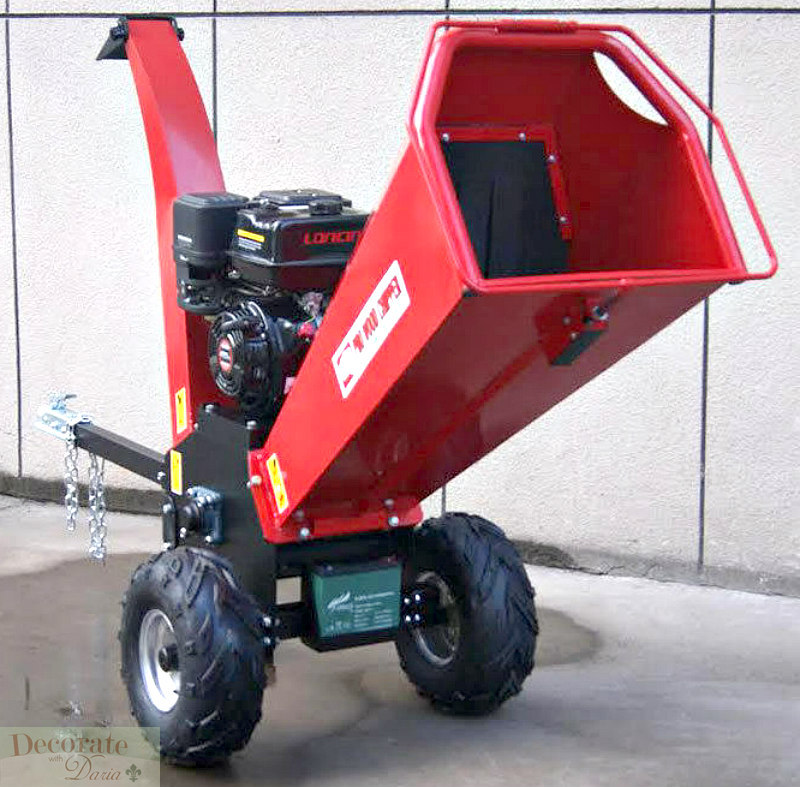 Battery Powered Mulcher