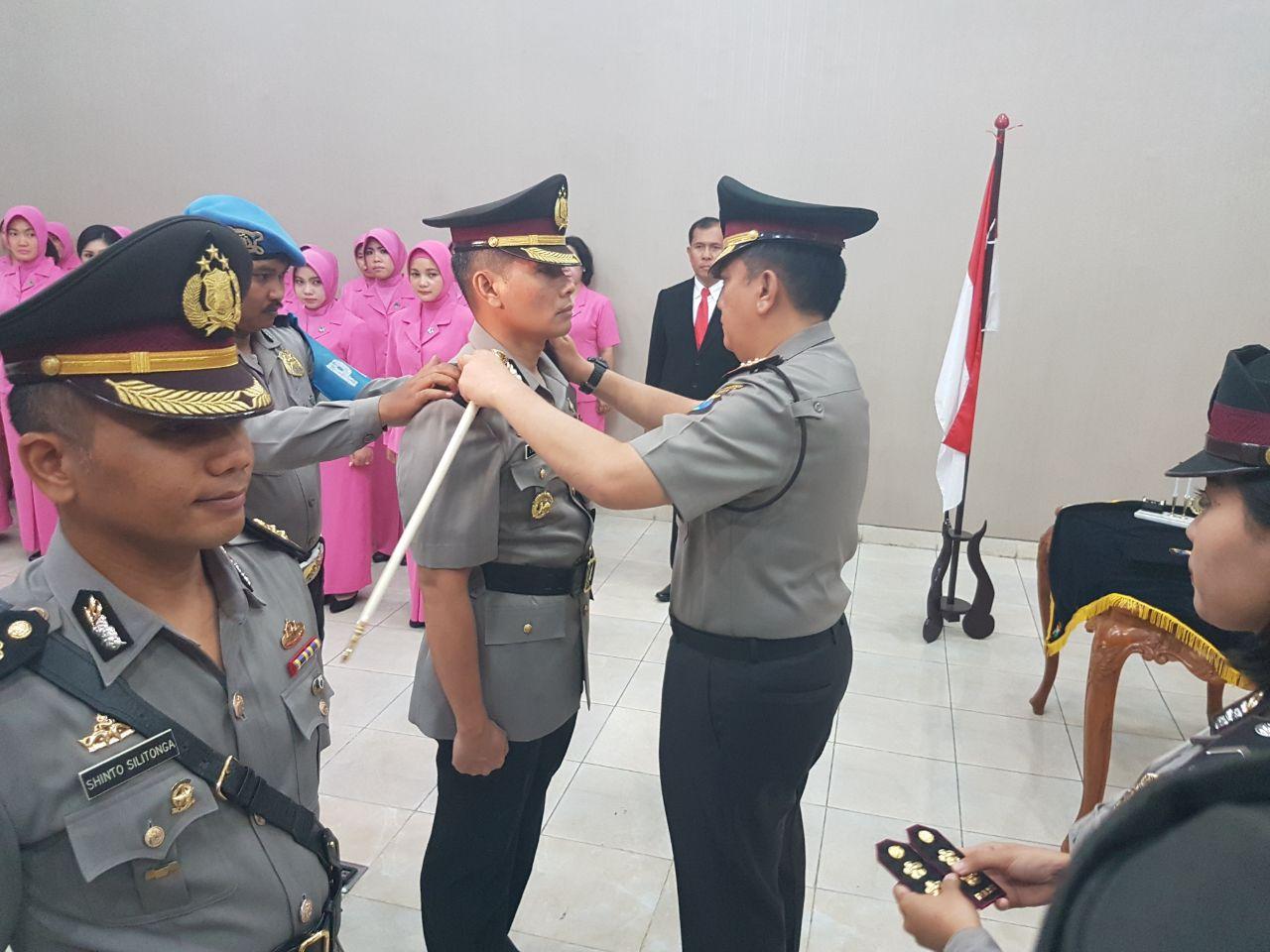 Kapolrestabes Surabaya Resmi Lantik Kasat Reskrim Yang Baru