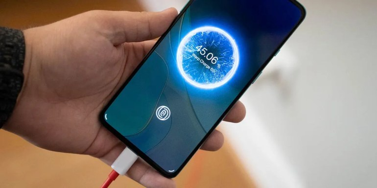 Quick charge OnePlus 8T