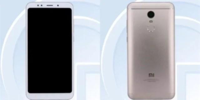Xiaomi Redmi 5 Filtrado