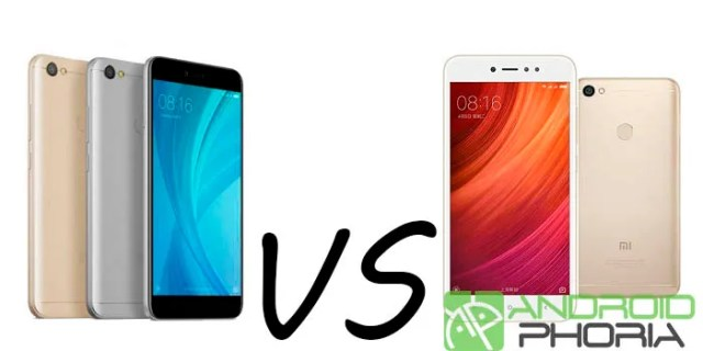 Xiaomi Redmi Y1 vs Xiaomi℗ Redmi Note 5A