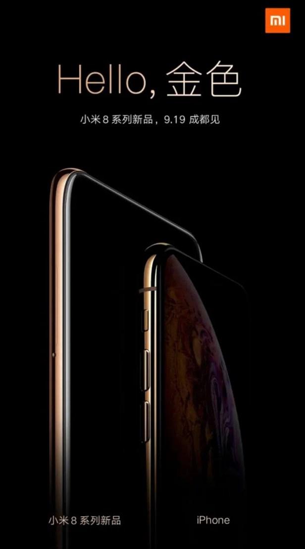 Xiaomi ri novo iPhone X