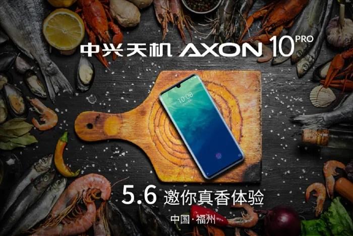 ZTE Axon 10 Pro 5G llegara 6 de mayo