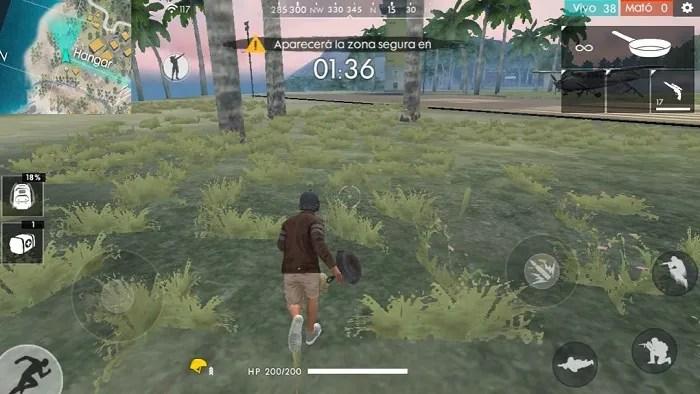 armas para correr free fire