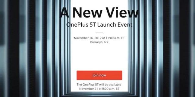 lanzamiento oneplus 5t