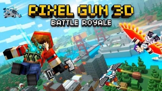 arma de pixel 3d batalha royale
