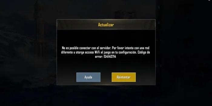 pubg servidor no responde