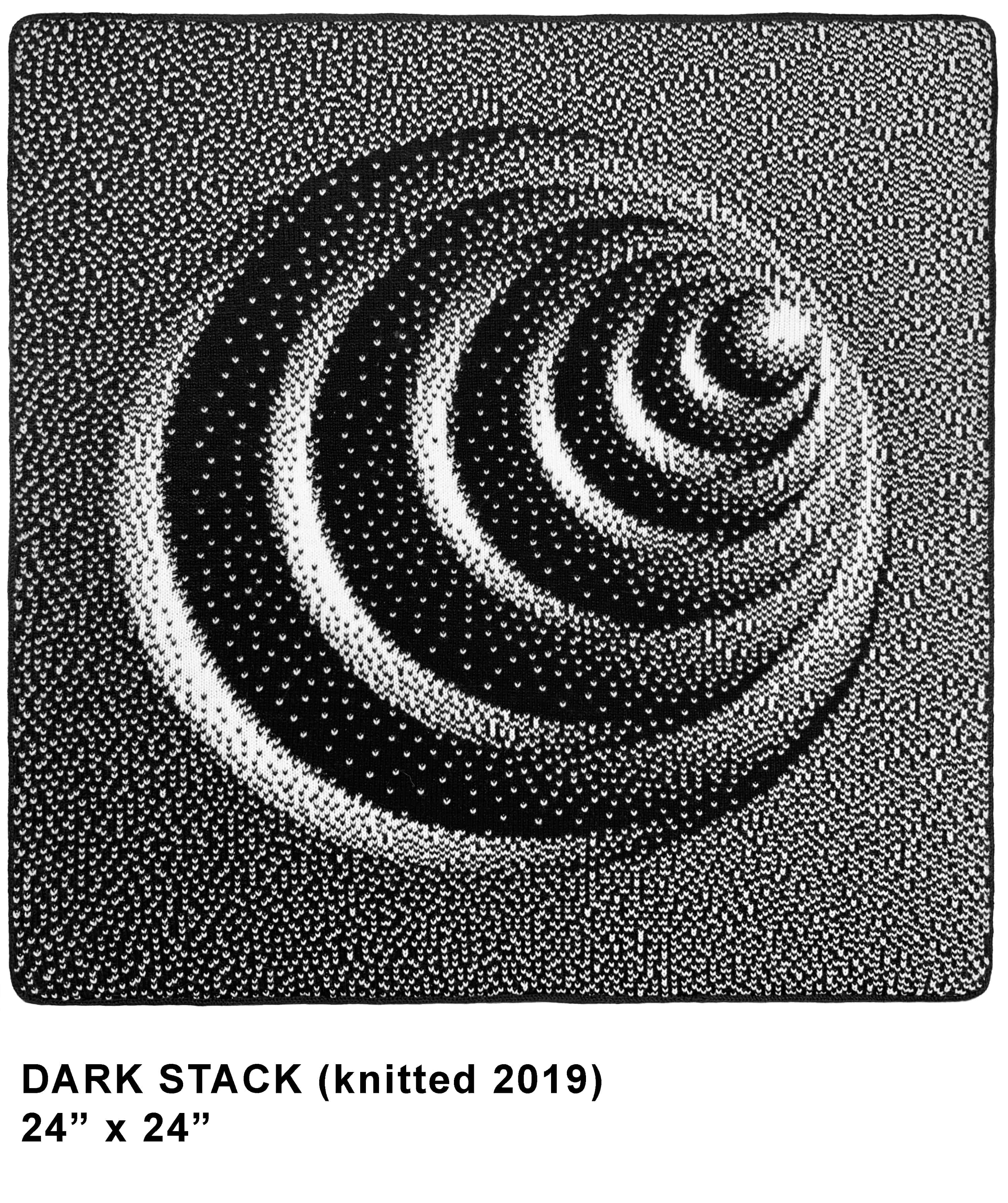 DARK STACK knitted template