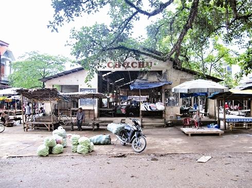 Le marché de Chu de la province de Thai Nguyên