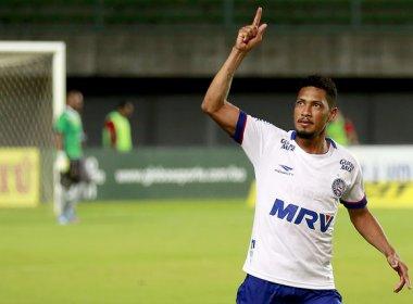 Novo contrato de Hernane aparece no BID e atacante fica apto para enfrentar o Sampaio