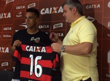 Juninho se diz pronto para estrear pelo Vitória: 'Estou bem'