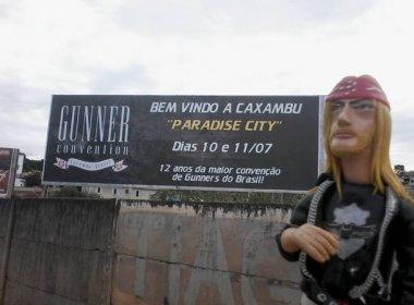 Dia Guns, celebrado em MG, reverencia o Guns N' Roses