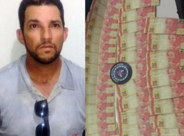Santaluz: Pastor é preso com R$ 800 em notas falsas
