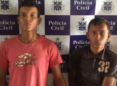 Crisópolis: Jovem é preso com comparsa por matar avô para roubar R$ 30