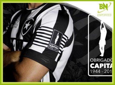 Botafogo faz camisa especial para homenagear Carlos Alberto Torres