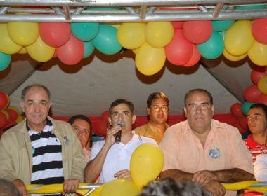 'Fora, golpista': Deputado Aleluia é vaiado em evento no interior da Bahia