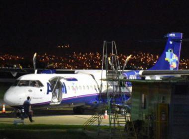 Com suspeita de incêndio, avião faz pouso de emergência em Vitória da Conquista
