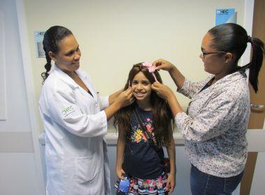 Feira: Hospital da Criança doa primeiras perucas para pacientes de Oncologia