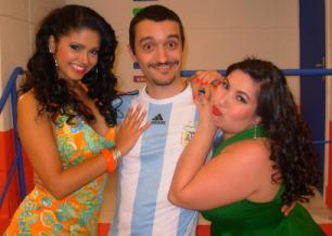 Juan Maradin, Luana Baiana e Silvinha Sexy