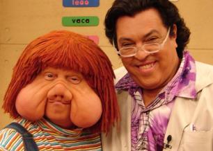 Fofão e o professor Magal