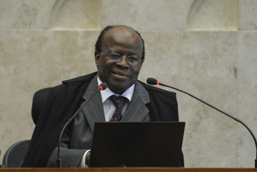Joaquim Barbosa é o primeiro ministro negro a tomar posse no STF (Supremo Tribunal Federal) / Fabio Rodrigues Pozzebom/ABr/ Arquivo