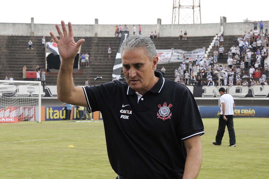 Tite é o atual técnico do Corinthians / Mazão Ramires Futura Press / Folhapress