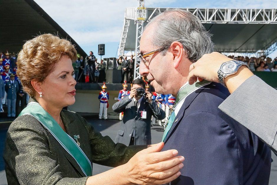 Colunista acredita que Cunha não deverá aderir às delações premiadas da Operação Lava Jato / Roberto Stuckert Filho/PR/Arquivo