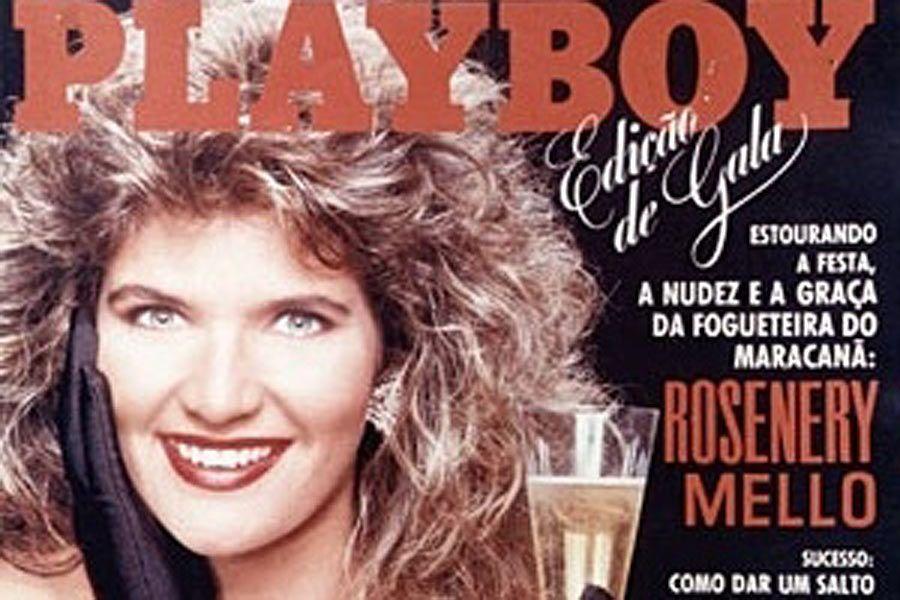 Rosenery chegou a ser detida pela polícia em 1989, mas foi solta. Logo depois, posou para a Playboy