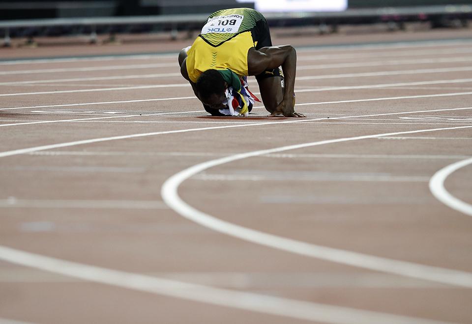 Bolt fez sua última prova individual neste sábado