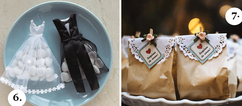 Foto: Lembrancinhas de Casamento Criativas   Divulgação