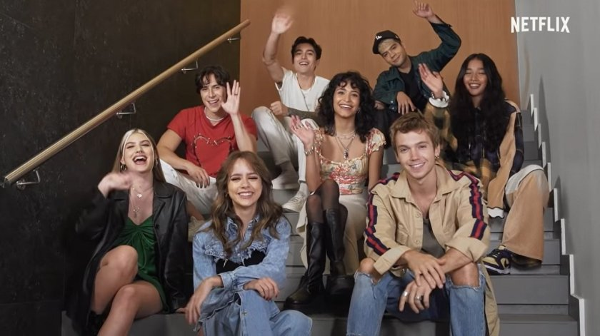 Rebelde has first cast image released by Netflix;  check out