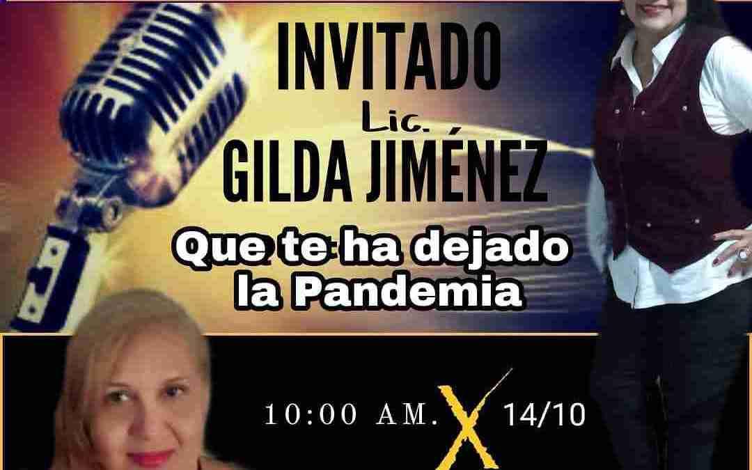 Conversatorio radiofónico con Gilda Jiménez. Una mirada motivacional en Zona Musical por CircuitoX 94.7 fm.