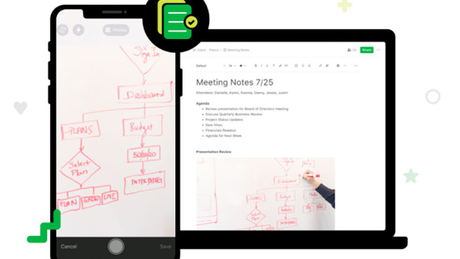 Evernote también está disponible para iOS y Android